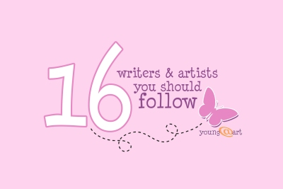 Sixteen writers and artists you should follow blog post