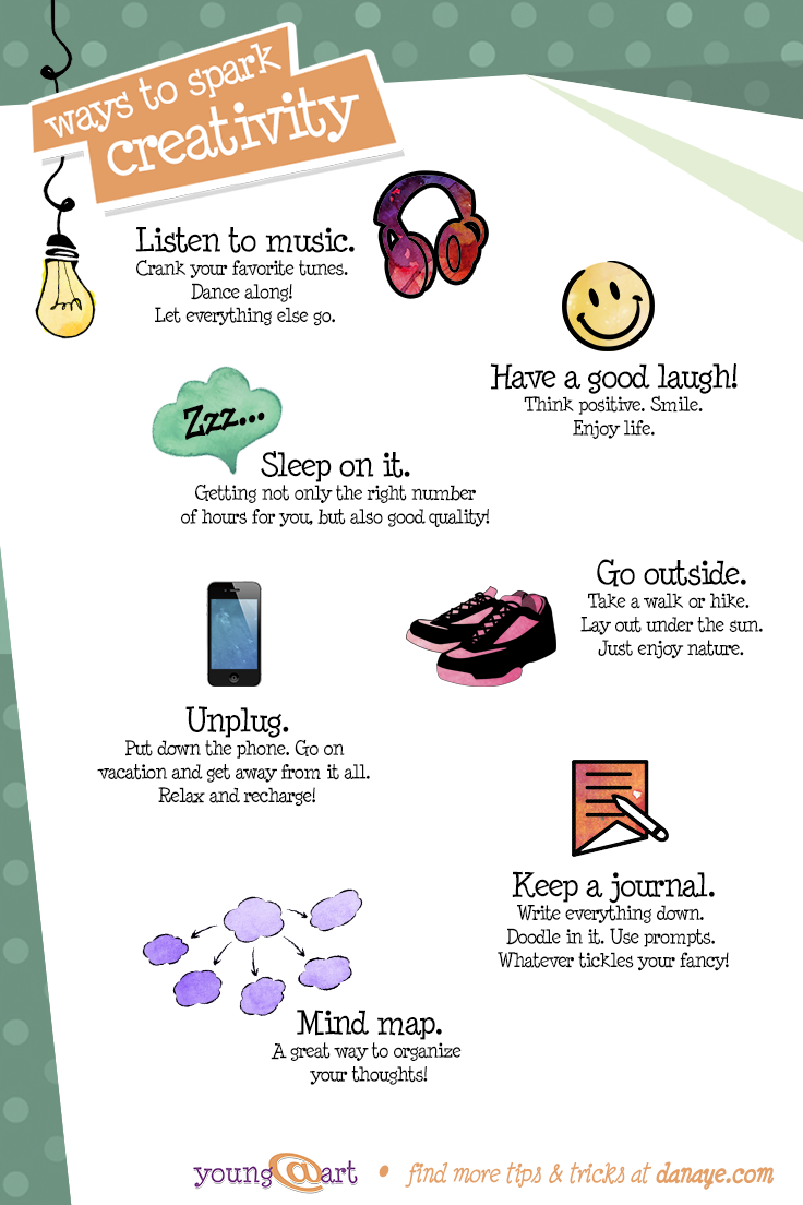 Ways to spark creativity